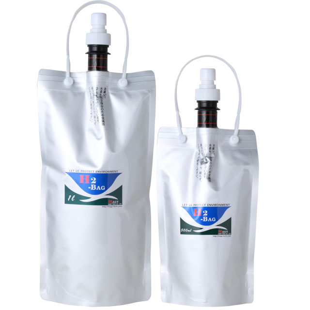 Vaccum type Hydrogen water bag