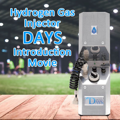 Hydrogen Gas Injector DAYS - Doctors Man